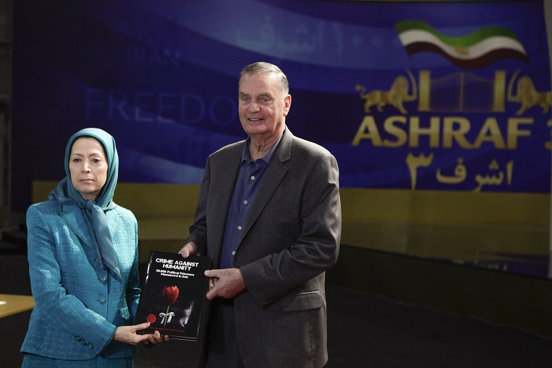 Following the Iran Protests 2019, General James Jones, the first National Security Advisor to President Barack Obama and the former Supreme Allied Commander Europe visited Ashraf-3, MEK's headquarters in Albania and held talks with Mrs. Maryam Rajavi, the President-elect of the National Council of Resistance of Iran (NCRI).