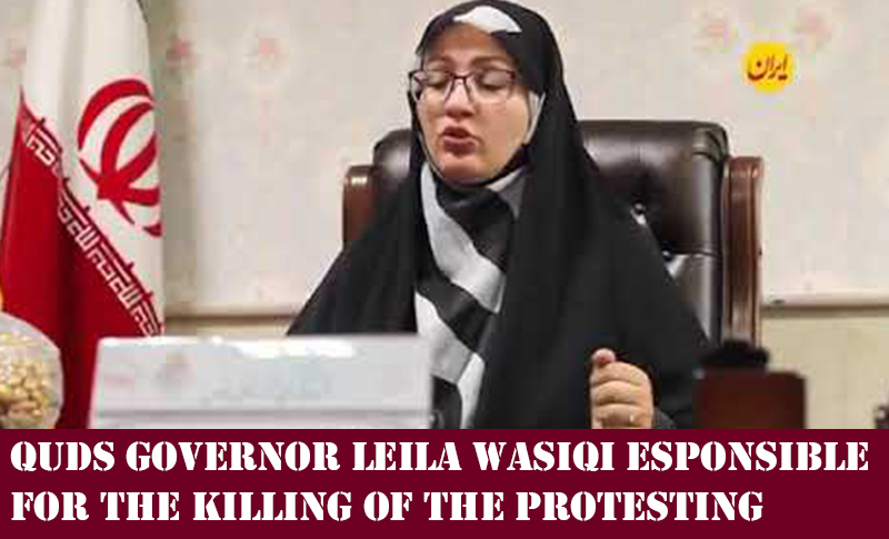 Quds governor Leila Wasiqi said security forces had the permission to prevent people from entering the governorate even to shoot them.