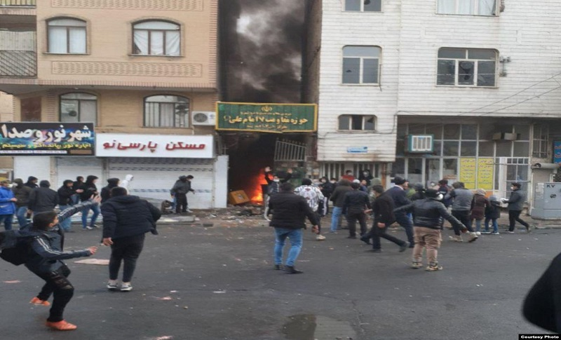 Anti-regime protests erupted across Iran on Friday after the mullahs tripled fuel prices and, despite a sustained crackdown by the authorities, they have continued throughout the weekend