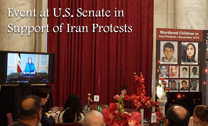 United States Senators Support REGIME CHANGE in Iran