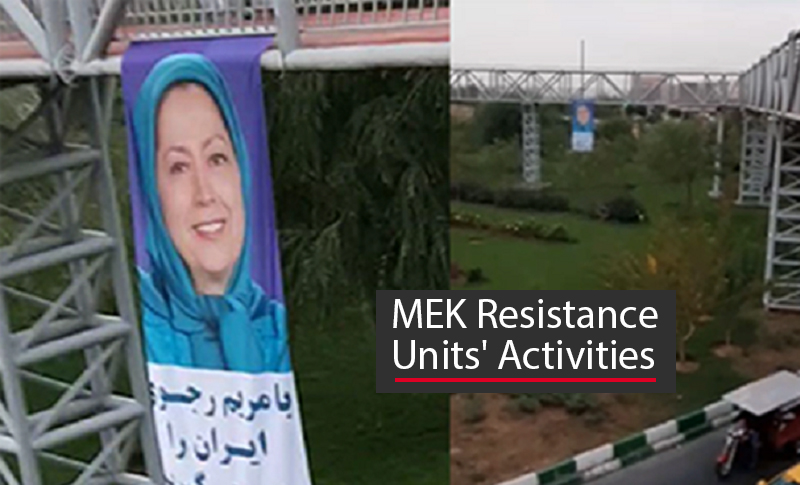 Supporters of the People's Mojahedin Organization of Iran (PMOI/MEK) inside Iran continued their defiance of the regime against all odds.