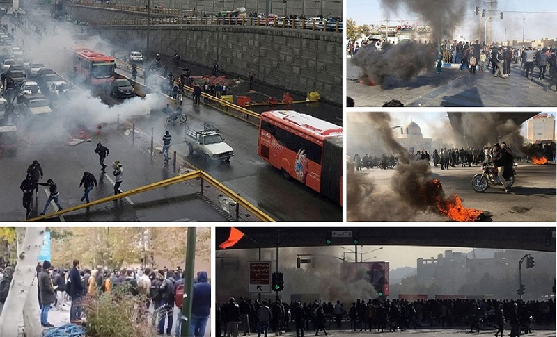 "Iran is at a historic juncture. For a sisxth straight day in Iran, protesters are chanting ""Death to the dictator,"" ""Death to Khamenei,"" and ""Death to Rouhani."""