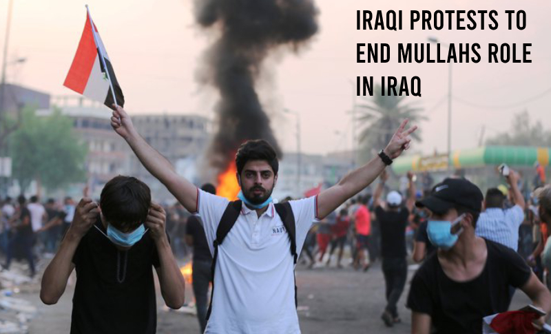 Iraqi Protests - a swap for Iran's mullahs