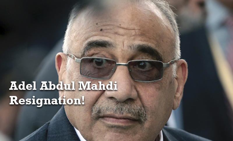 Iraq's parliament has approved the resignation of Prime Minister Adel Abdul Mahdi following weeks of unrest.