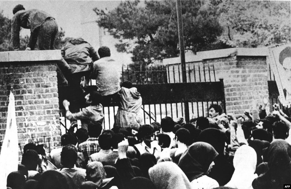 On November 4 1979 the United States embassy in Tehran was taken over