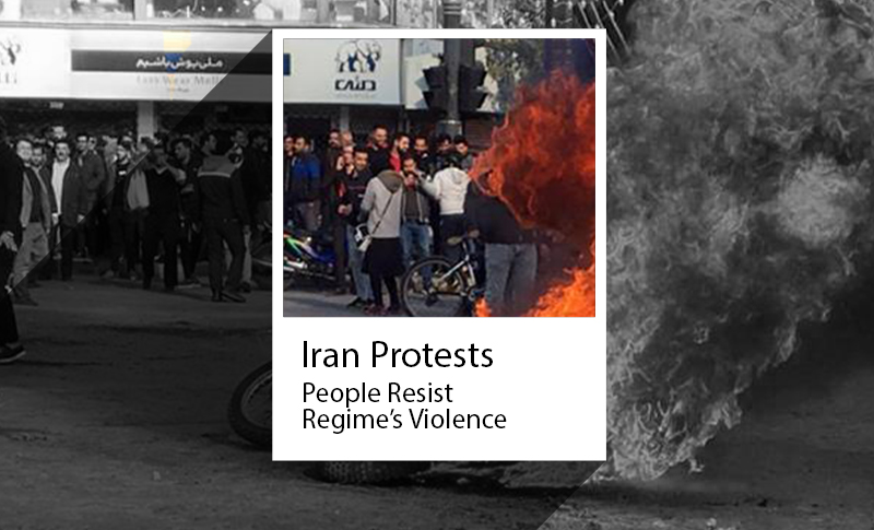 Iran Protests 2019: People continue to resist regime's threats and violence