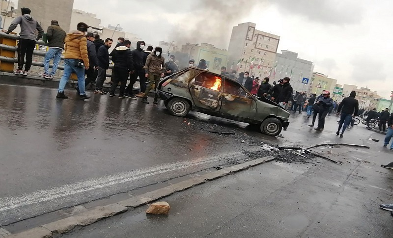 A number of people have been killed and many injured since the protests broke out in Iran last Friday after the announcement of an increase in fuel prices.