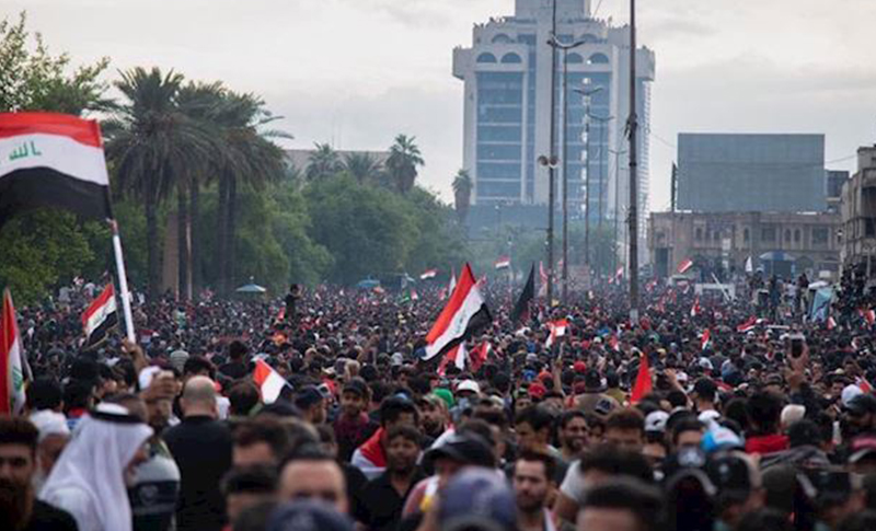 Iraqi people's uprising ousts PM strategic blow for Iranian regime