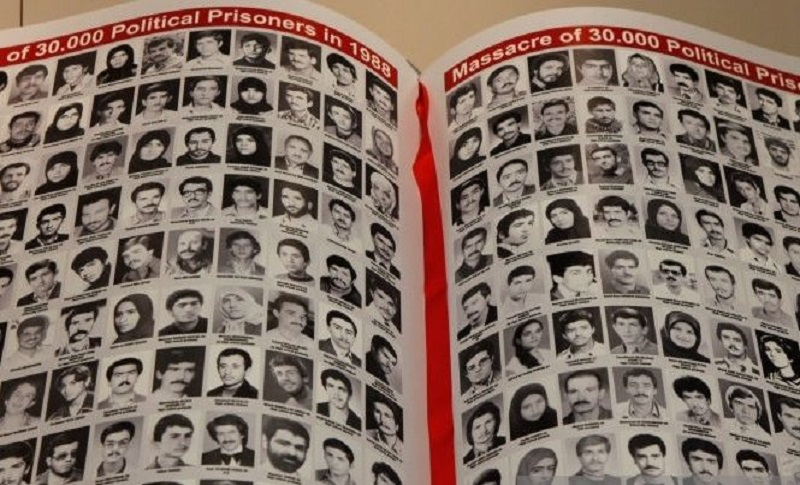 During the course of summer 1988 in Iran, more than 30,000 political prisoners were executed by Fatwa of Khomeini