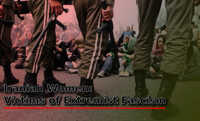 The brave women of Iran took part in the resistance against the clerical regime ruling the country