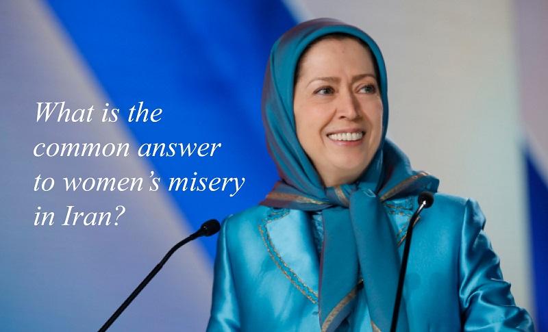 Maryam Rajavi, Voice of the Voiceless people of Iran