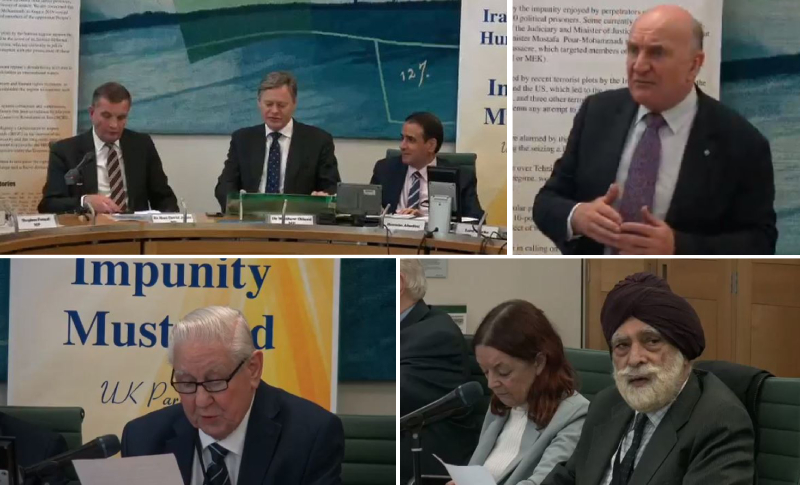 Conference held at the UK Parliament condemns human rights violations in Iran, calls for firm policy- October 17, 2019