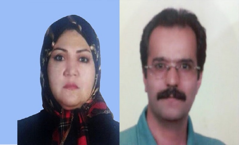 The Iranian political prisoner couplle were arrested on April 9, 2014, for organizing a mourning ceremony for Hassan Sadeghi's father Gholamhossein Sadeghi, deceased on January 29, 2014, in Camp Liberty, Iraq, where PMOI members were held under siege.