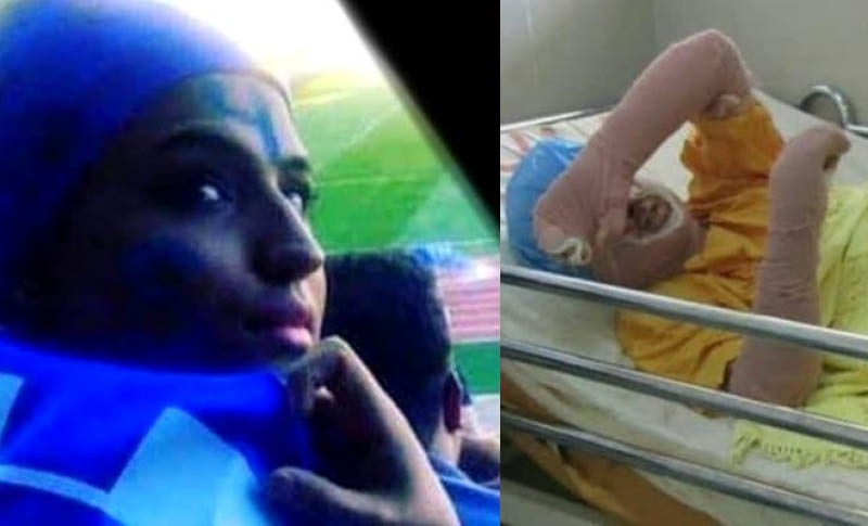 Sahar Khodayari, a young woman who had set her self in fire to protest against suppression and discrimination, died on Monday September 9th 2019