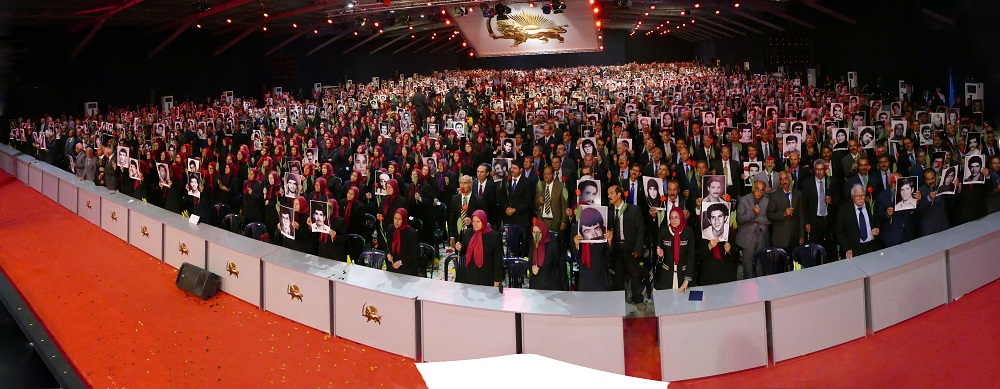 MEK members paying tribute to their martyrs-Ashraf3 Conference-July2019