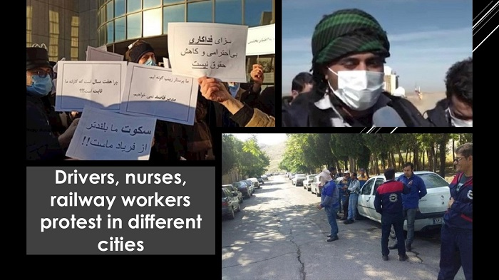 protest in different cities.
