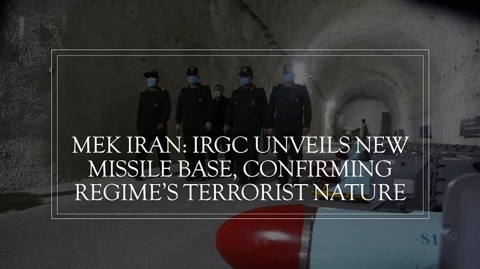 IRGC Unveils New Missile Base