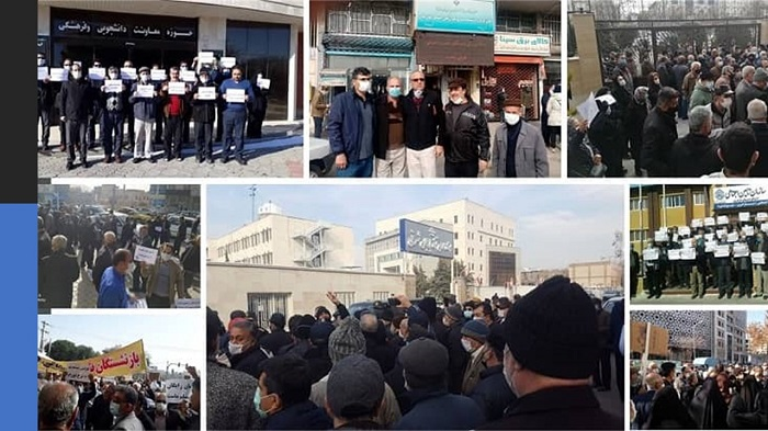 Iran: Numerous protests held across country despite