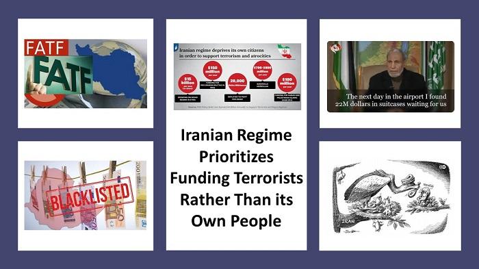 Iranian Regime Prioritizes Funding Terrorists