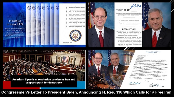 Bipartisan Motion in US House of Representatives Condemning Mullahs' Human Rights