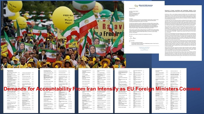 Demands for Accountability From Iran Intensify as EU