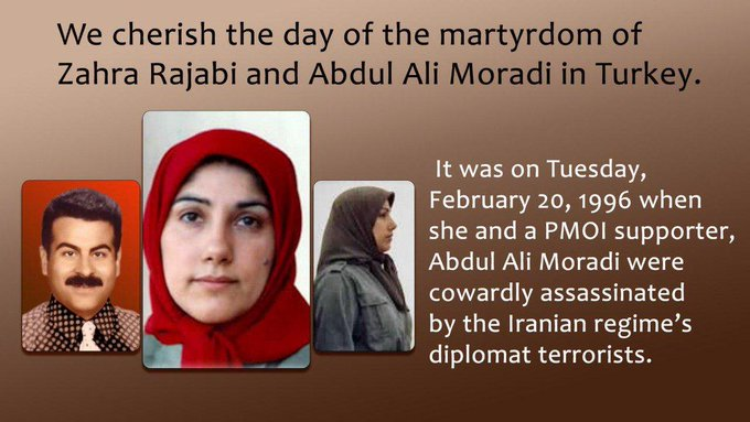 Iranian terrorists assassinated