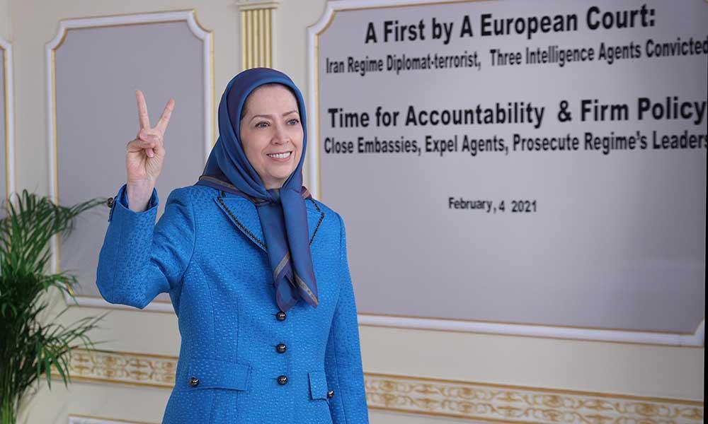 Conviction of Iran Regime Diplomat-Terrorist, And 3 Intelligence Agents