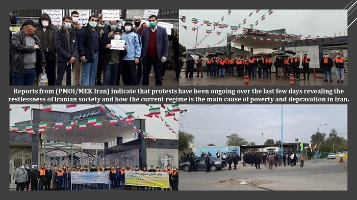 Reports from Iran obtained by the People's Mojahedin