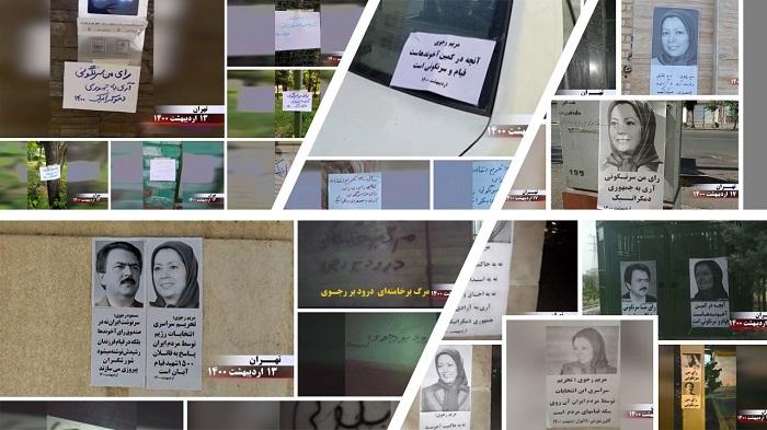 boycott regime's sham election.