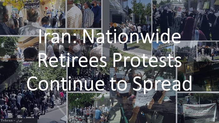 Iran: Nationwide Retirees Protests