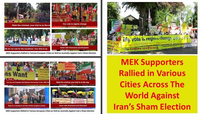 (PMOI / MEK Iran) and (NCRI)