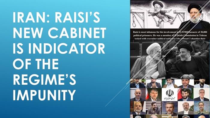 Iran: Raisi's New Cabinet