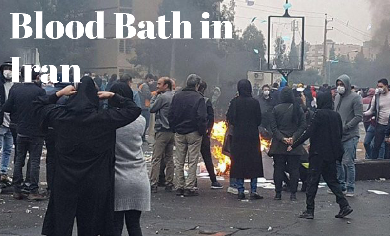 Brutality suppression of Iranian protests 2019