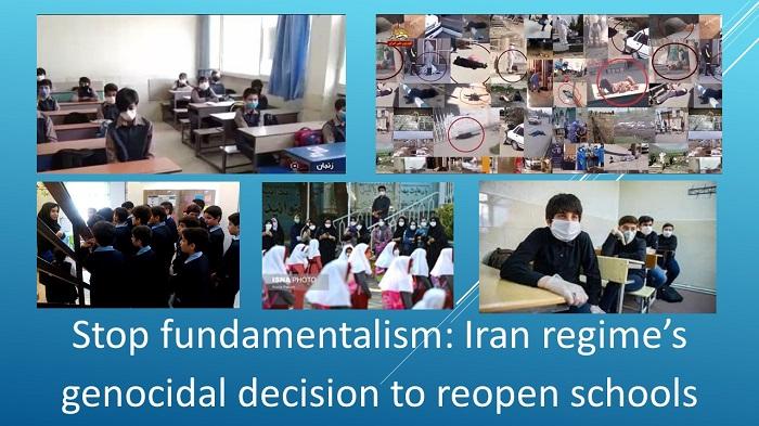 Iran regime's genocidal decision to