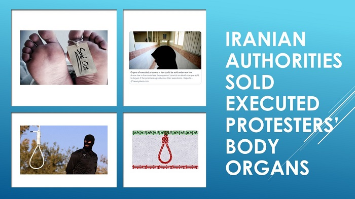 Sold Executed Protesters' Body