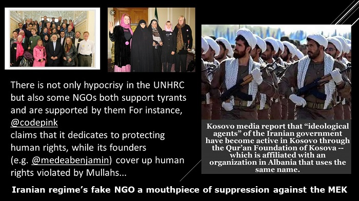 Iranian regime's fake NGO