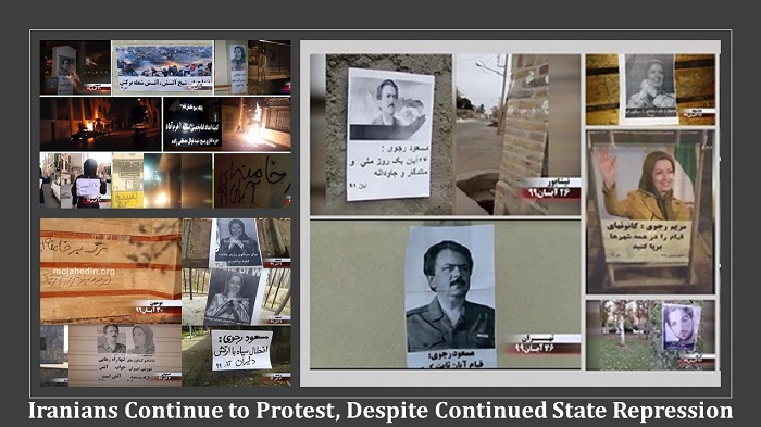 Iranians Continue to Protest,