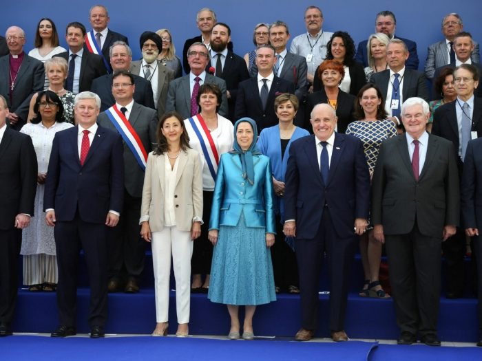 June 30, 2018, Free Iran grand gathering- Paris, Villepinte