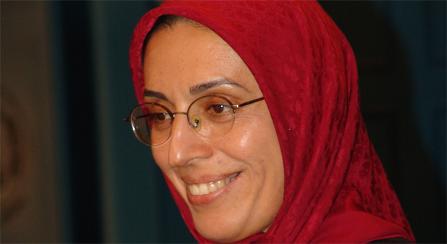 Zohreh Akhyani, MEK/PMOI's new Secretary General