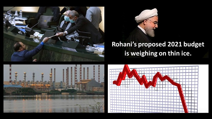 Rohani's proposed 2021 budget