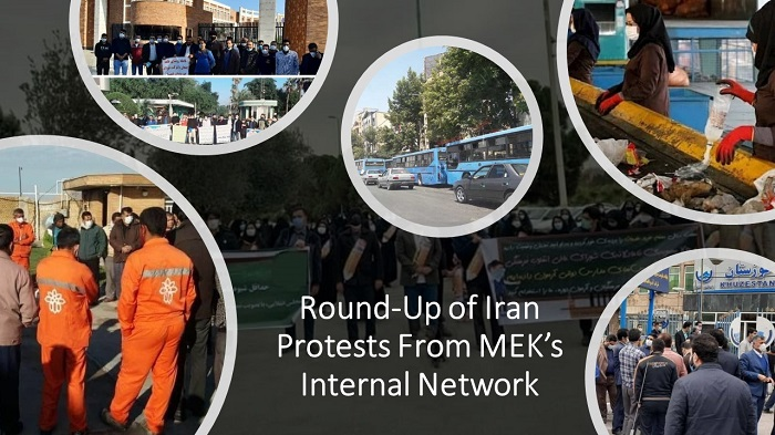 Round-Up of Iran Protests