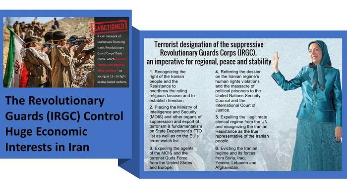 (IRGC) Control Huge Economic