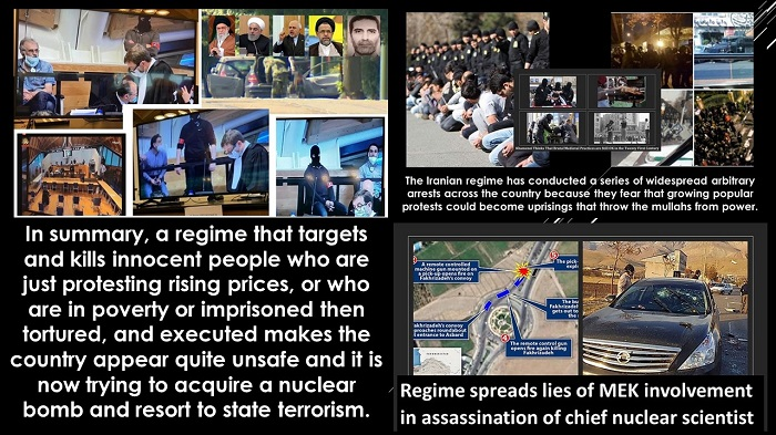 Weakness in the Iranian Regime