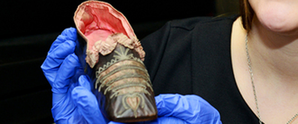 Slippers found in British University