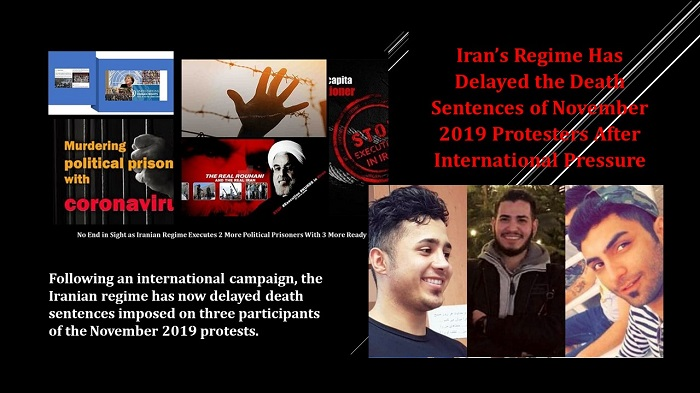 Death Sentences of November 2019 Protesters