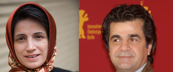 Iranian imprisoned-woman lawyer Nasrin Sotoudeh, and filmmaker and director Jafar Panhi are two Iranians named to be among the nominees of this year's Sakharov prize