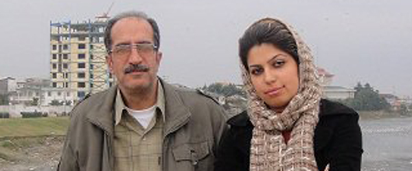 Mohammad Reza Pourshajareh and daughter Mitra Pourshajareh