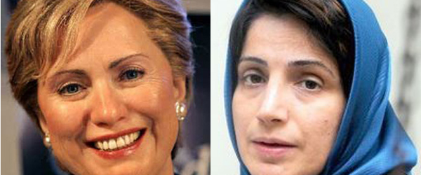 Secretary of State Hillary Rodham Clinton issued a press statement on October 26 congratulating Sotoudeh for receiving the Sakharov award and expressing concern over her health condition while in Iranian prison