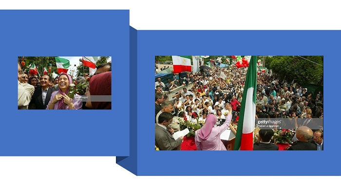 "• ""Maryam Rajavi is the national symbol of freedom in Iran"""