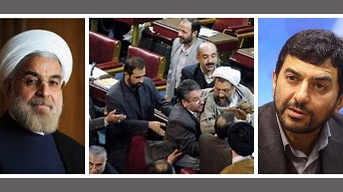 Regime President Hassan Rouhani Avoids Majlis